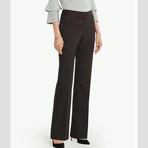 Ann Taylor Black Signature Trouser Work Pants 12